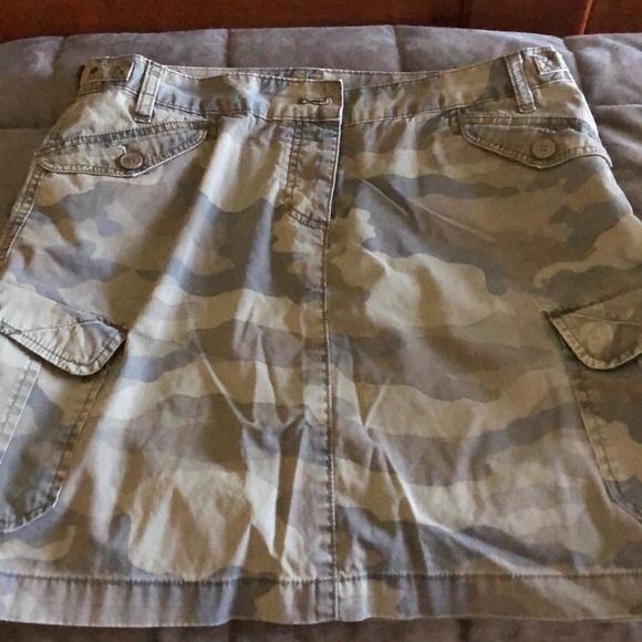 J. Crew Dresses & Skirts - Jcrew camo Jean skirt